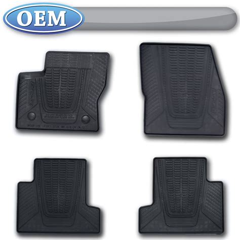 Oem All Weather Floor Mats by Oem New 2013 2017 Ford Escape All Weather Vinyl Floor Mats