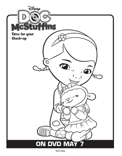 printable coloring pages doc mcstuffins one savvy mom nyc area mom blog 9 free disney doc