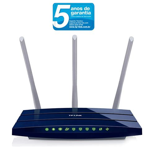 Router Tp Link 3 Antena by Roteador Gigabit Tp Link Tl Wr1043nd 300mbps Wireless