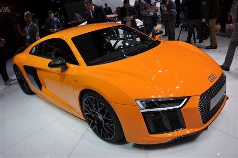 Audi R8 Neues Modell 2015 by Genf 2015 Neuer Audi R8 Und R8 E Tron Automobil Blog