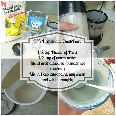 diy for chalk paint diy chalk based paint project thediydreamer