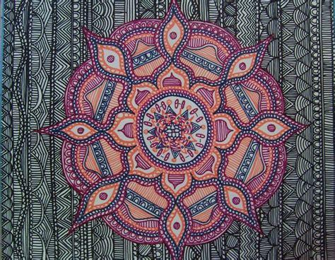 Colorful Doodle Keren colorful mandala wallpaper mandala work by dylanmark