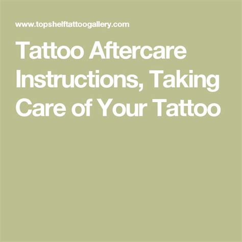 taking care of a tattoo best 25 aftercare ideas on aftercare