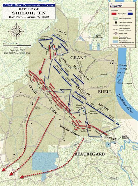 battle of shiloh civil war battle of shiloh second day map jpg civil war