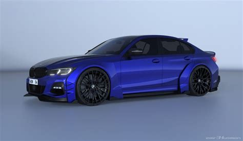 bmw   series rendered  futuristic race car guise