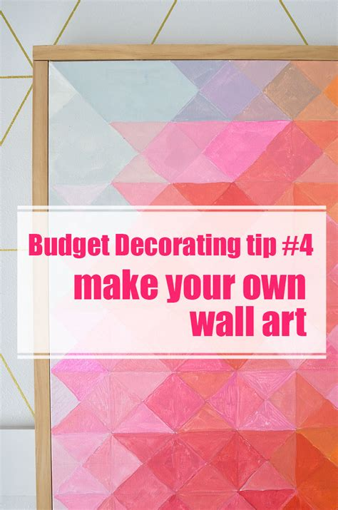 28 make your own artwork for home decor 25 best