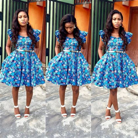 simple ankara styles short gown debonke house of fashion pin by delia magee on african cloth pinterest short