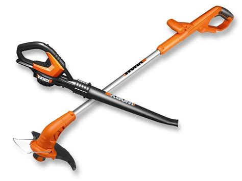 better worx worx 20 volt trimmer blower with battery and charger