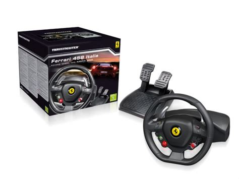 thrustmaster 458 steering wheel controller for