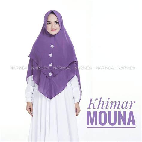 Kain Khimar Khimar Mouna By Narinda Bahan Ceruti 2 Layer