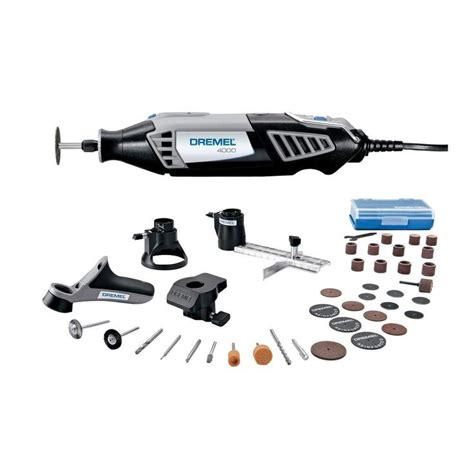 Dremel Home Depot by Dremel 4000 Series Corded Rotary Tool Kit 4000 4 36 At The