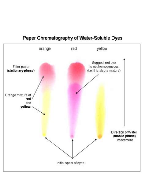 How To Make Chromatography Paper - chem 123 chapt 2