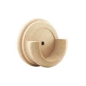 Pole Curtain Rods 1 3 4 Unfinished Wooden Inside Mount For Curtain Rod