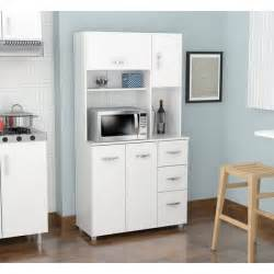 laricina white kitchen storage cabinet free shipping today gloss cabinets modern high furniture