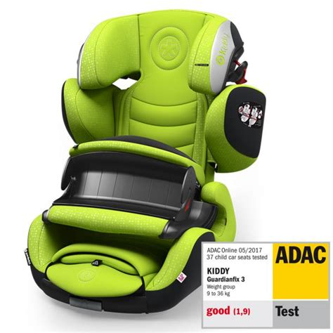 siege auto test adac kiddy guardianfix 3 si 232 ge auto groupe 1 2 3 test avis