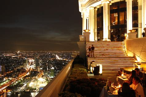 Top Bars In Bangkok by Top 5 Rooftop Bars In Bangkok Live In Thailand