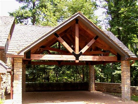 Timber Frame Carports timber framed carport home sweet home