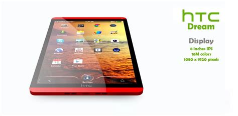 Tablet Ukuran 8 Inch Htc 8 Inch Tablet May Push Htc Into The Future