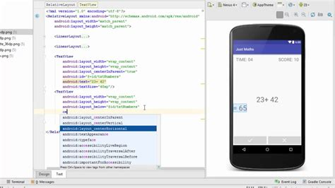 layout android app eclipse android app screen design tutorial using relative layout