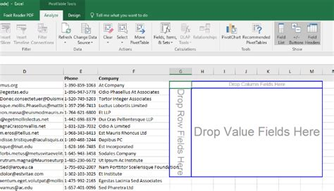 how to create table html how to create excel pivot tables