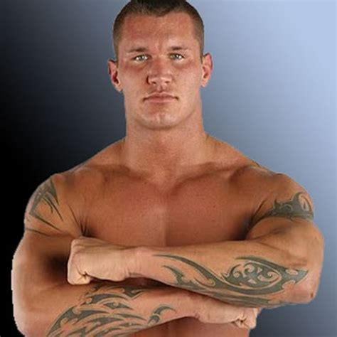 randy orton tribal tattoo the rock cena taker great khali the miz