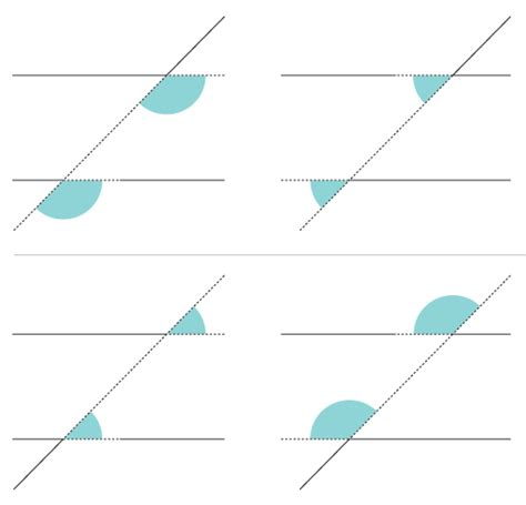 Same Side Interior Definition Bbc Ks3 Bitesize Maths Intersecting And Parallel Lines