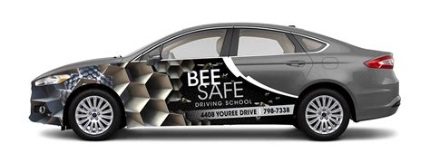 Brooklyn Home Design Blog bee safe driving academy car wrap may marketing group
