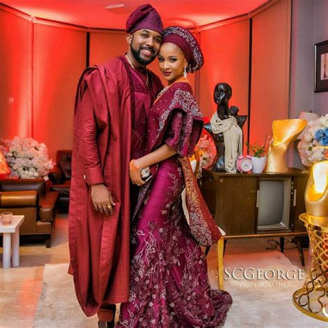 Banky W and Adesuwa Etomi as Wedding Fashion Influencers