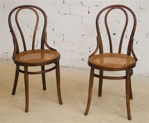 Thonet Bistro Chair Thonet Chairs Vintage Retro Antique Bistro Chair The 20s Wood Turned Canage Seat