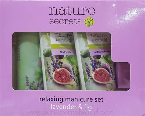 Manicure Set Oriflame oriflame nature secrets manicure set lavender fig review