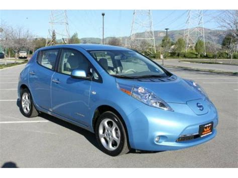 nissan leaf ads nissan leaf sv for sale one owner electric cars for sale