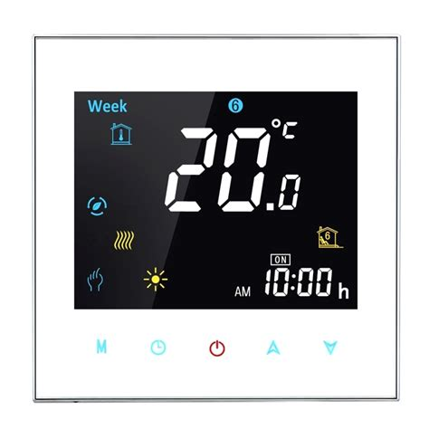 Wobble Lcd Clock Adds To Room by Bht 3001 16a Load Electronic Heating Type Lcd Digital