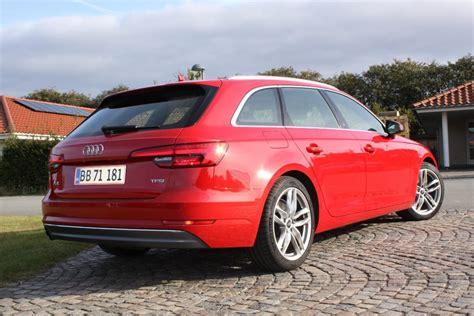 Audi A4 Avant Test by Test Audi A4 Avant N 229 R Mindre Er Mest Bilsektionen Dk