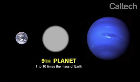 Planet Nine by Caltech Researchers Find Evidence Of So Called Planet