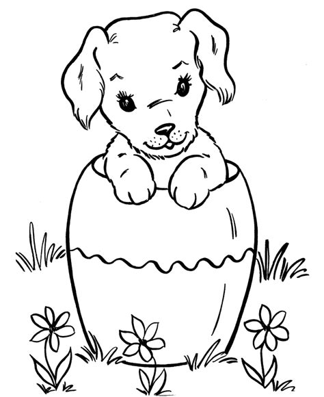 coloring pages puppies best coloring page dogs and puppies coloring pages free