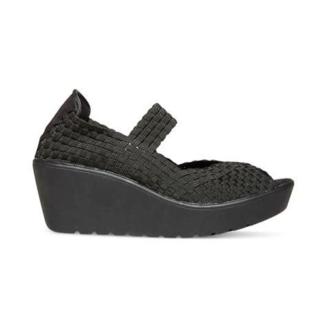 steve madden platform sandals steven by steve madden platform sandals in black lyst