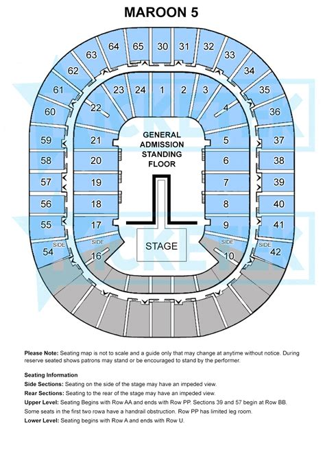 rod laver arena floor plan maroon 5 concert tickets melbourne general admission floor