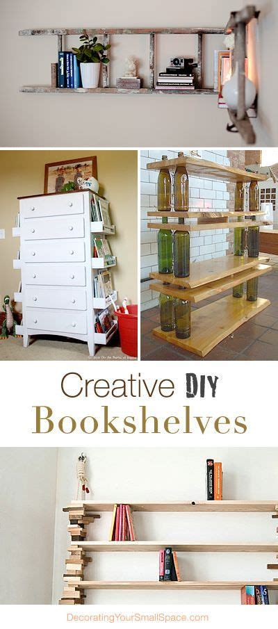 Creative Bookshelves Diy 25 Best Ideas About Ez Storage On Grocery Bag