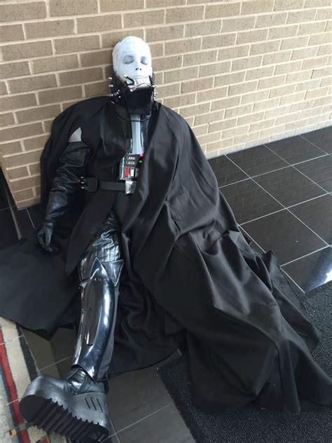 supreme darth vader costume unmasked darth vader wars amino