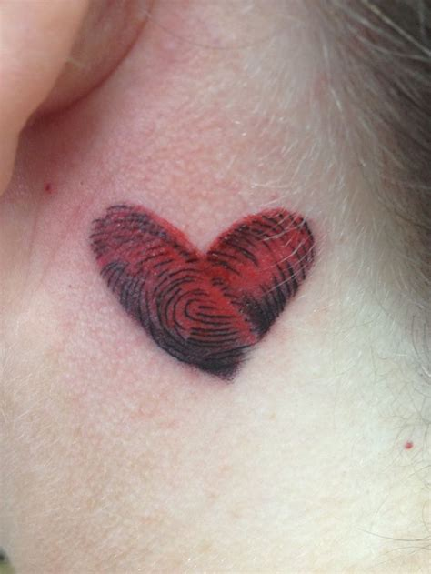 biometric tattoo 25 best images about fingerprint tattoos on