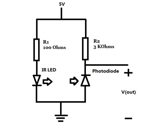 ir detector diode datasheet need help for infrared indicator