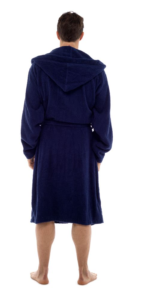 mens 100 cotton luxury hooded terry towelling bath