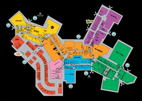 sawgrass mills map mall map for sawgrass mills 174 a simon mall located at lieux 224 visiter