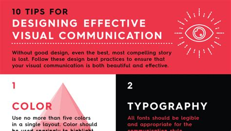 10 tips for designing a infographic 10 tips for effective visual communication