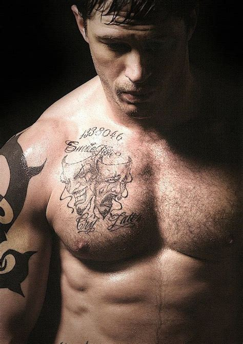 tom hardy tattoos tom hardy