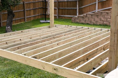 strong decks you can a cool diy floating deck part 1 building