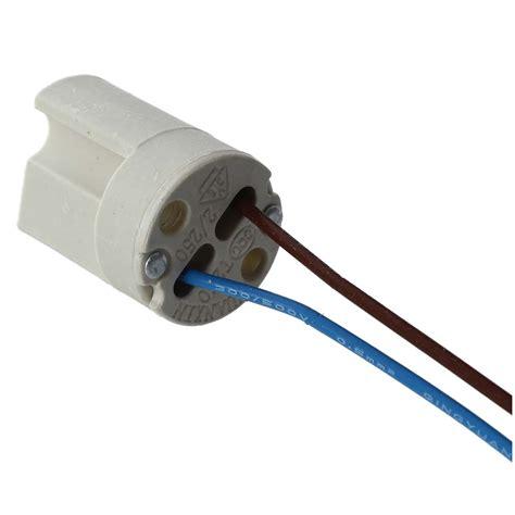 g9 ceramic l holder b9 10pcs 250v 2a g9 socket ceramic light l holder with