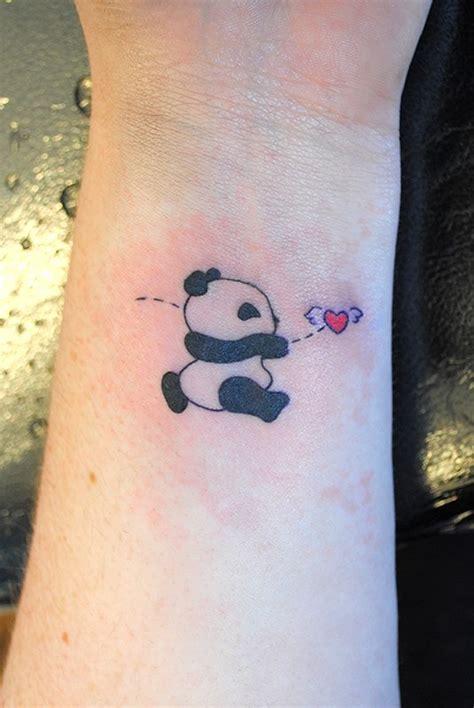 panda tattoo wrist 40 irresistibly unique panda bear tattoo ideas to steal