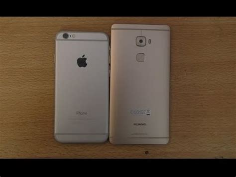 huawei mate 8 vs iphone 6s plus comparision