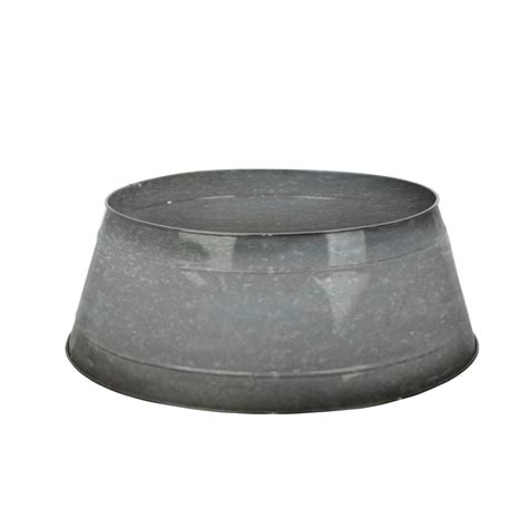 tree stand home depot home accents galvanized metal tree collar u151695g